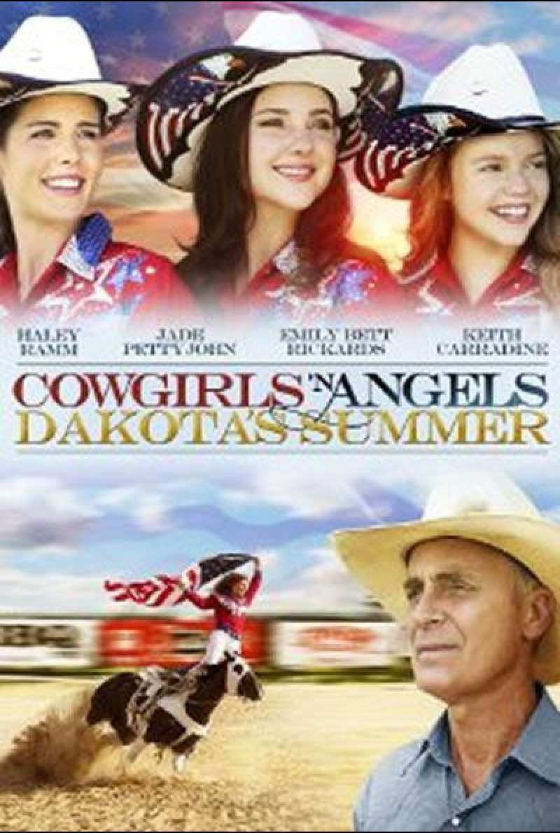 Cowgirls 'n Angels - Dakota's Summer von Timothy Armstrong - Filmplakat (US)