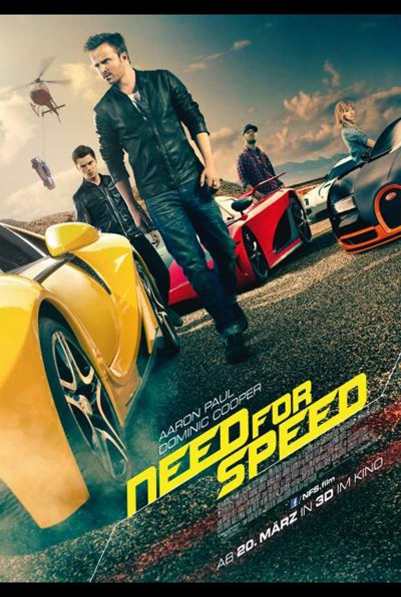 Need For Speed 3D - Filmplakat