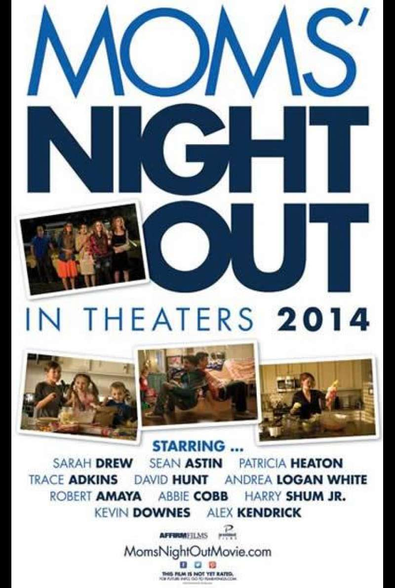 Moms' Night Out von Andrew Erwin - Filmplakat (US)