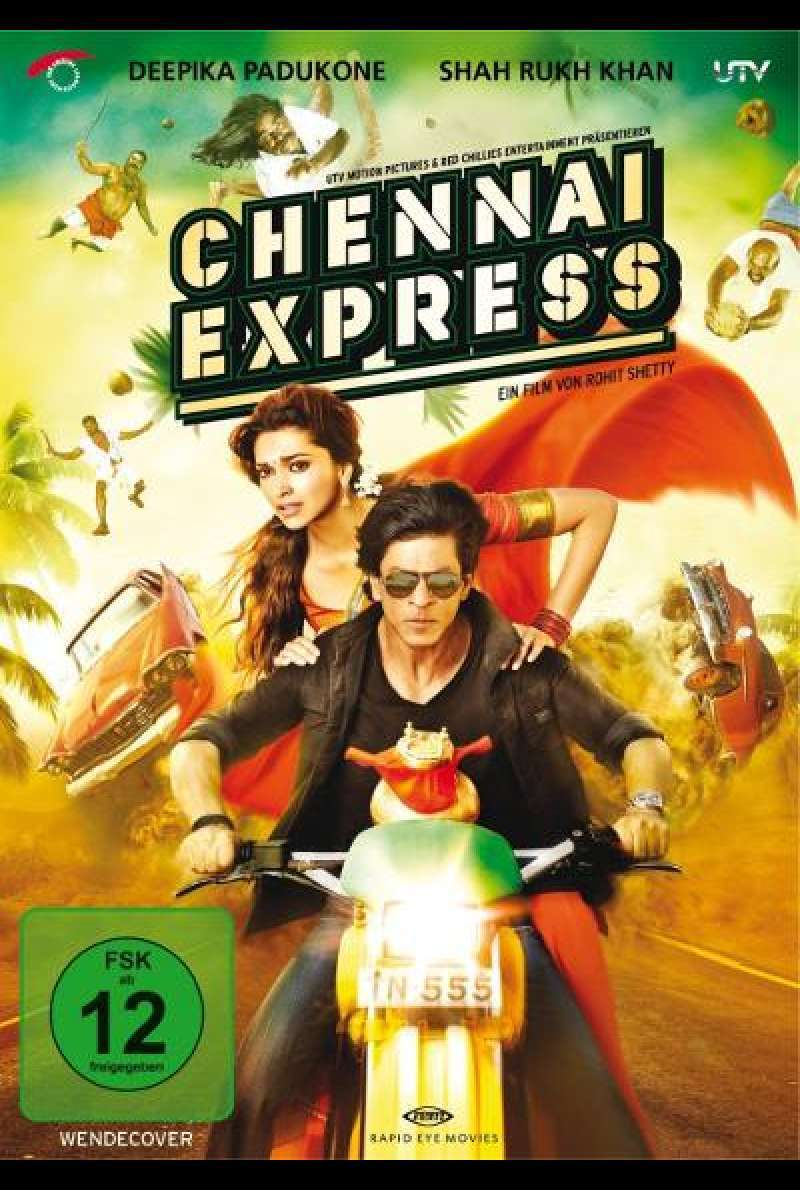 Chennai Express von Rohit Shetty - DVD - Cover