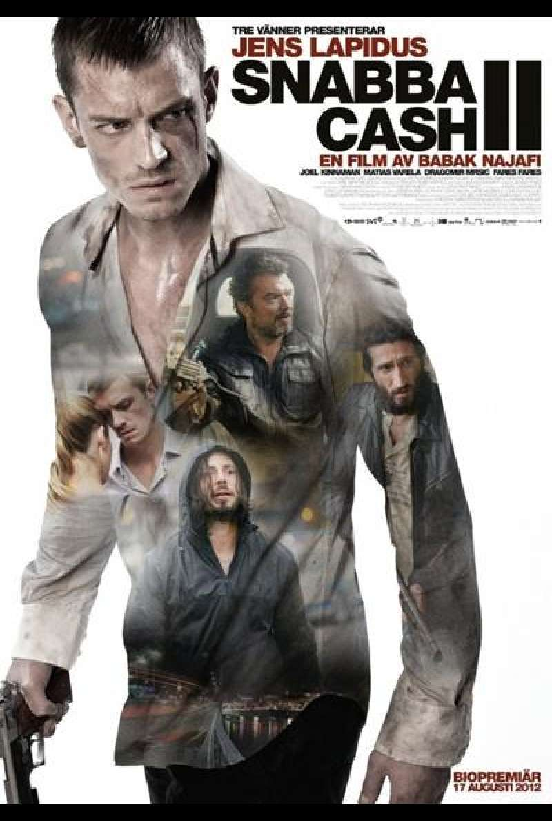 Easy Money: Hard to Kill von Babak Najafi - Filmplakat (SE)
