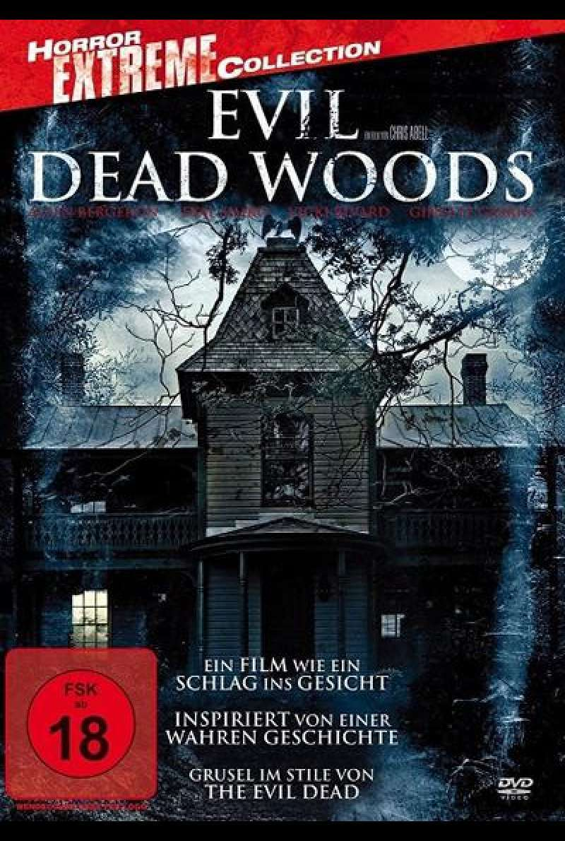 Evil Dead Woods von Chris Abell - DVD-Cover (DE)