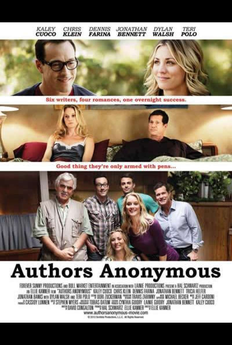 Authors Anonymous von Elli Kanner - Filmplakat (US)