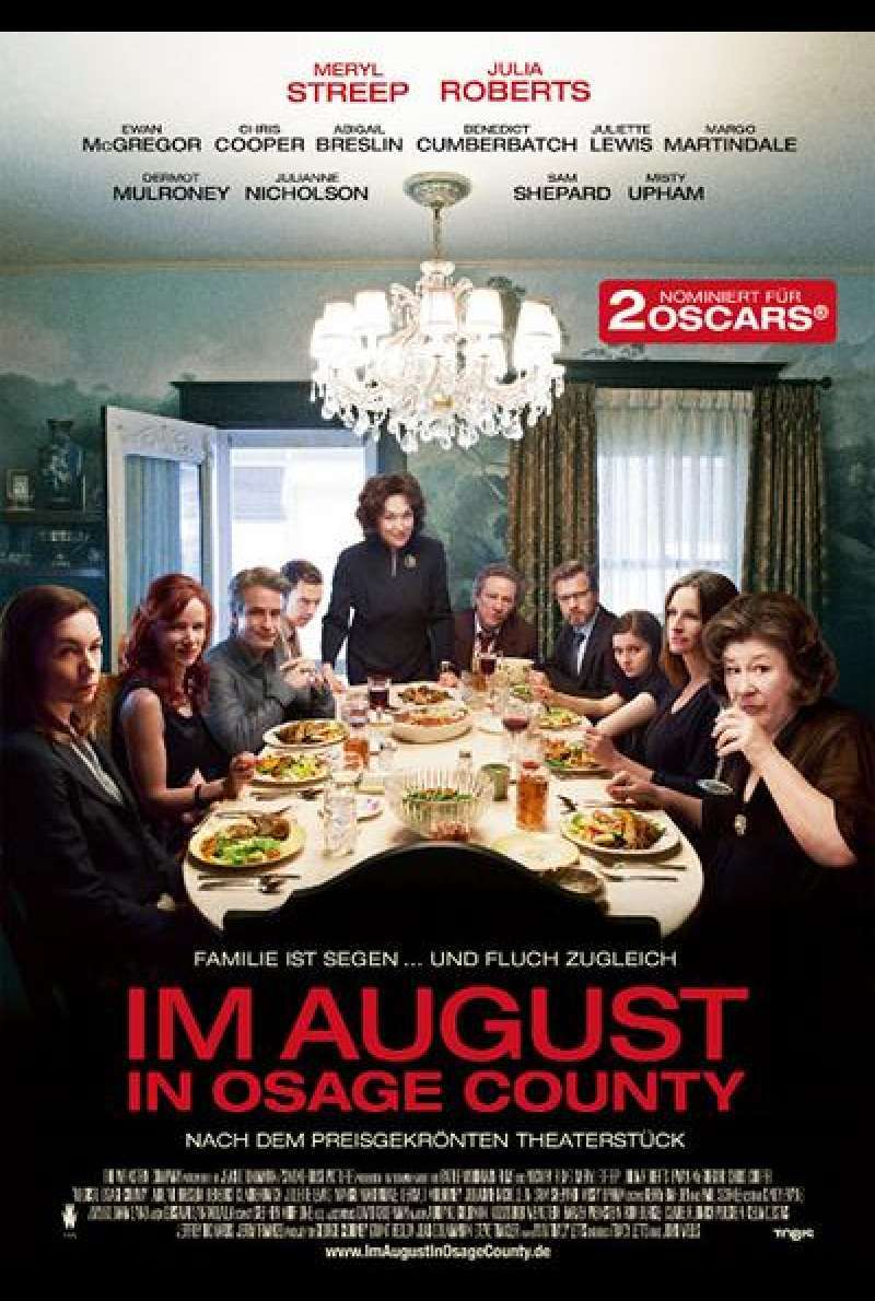 Im August in Osage County - Filmplakat
