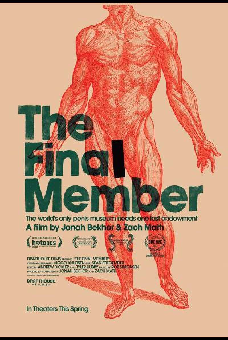 The Final Member von Jonah Bekhor und Zach Math - Filmplakat (US)