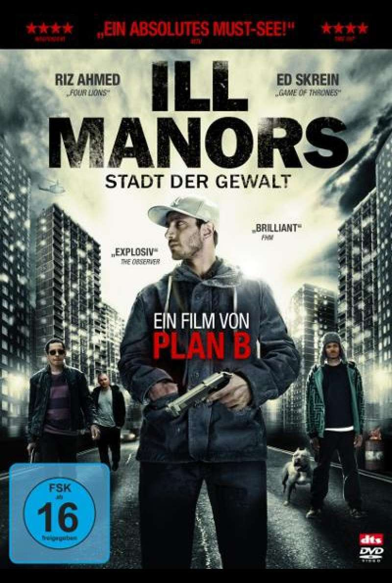 Ill Manors von Ben Drew - DVD - Cover