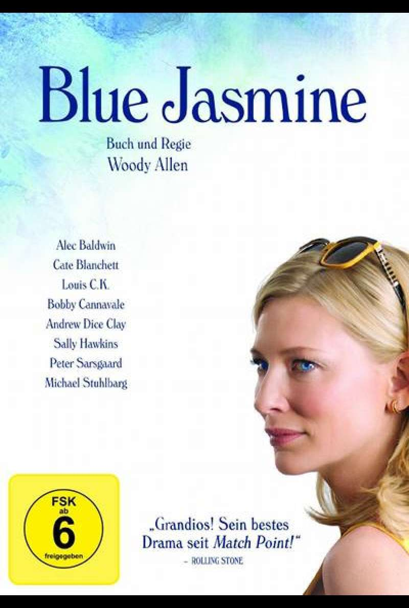 Blue Jasmine - DVD-Cover