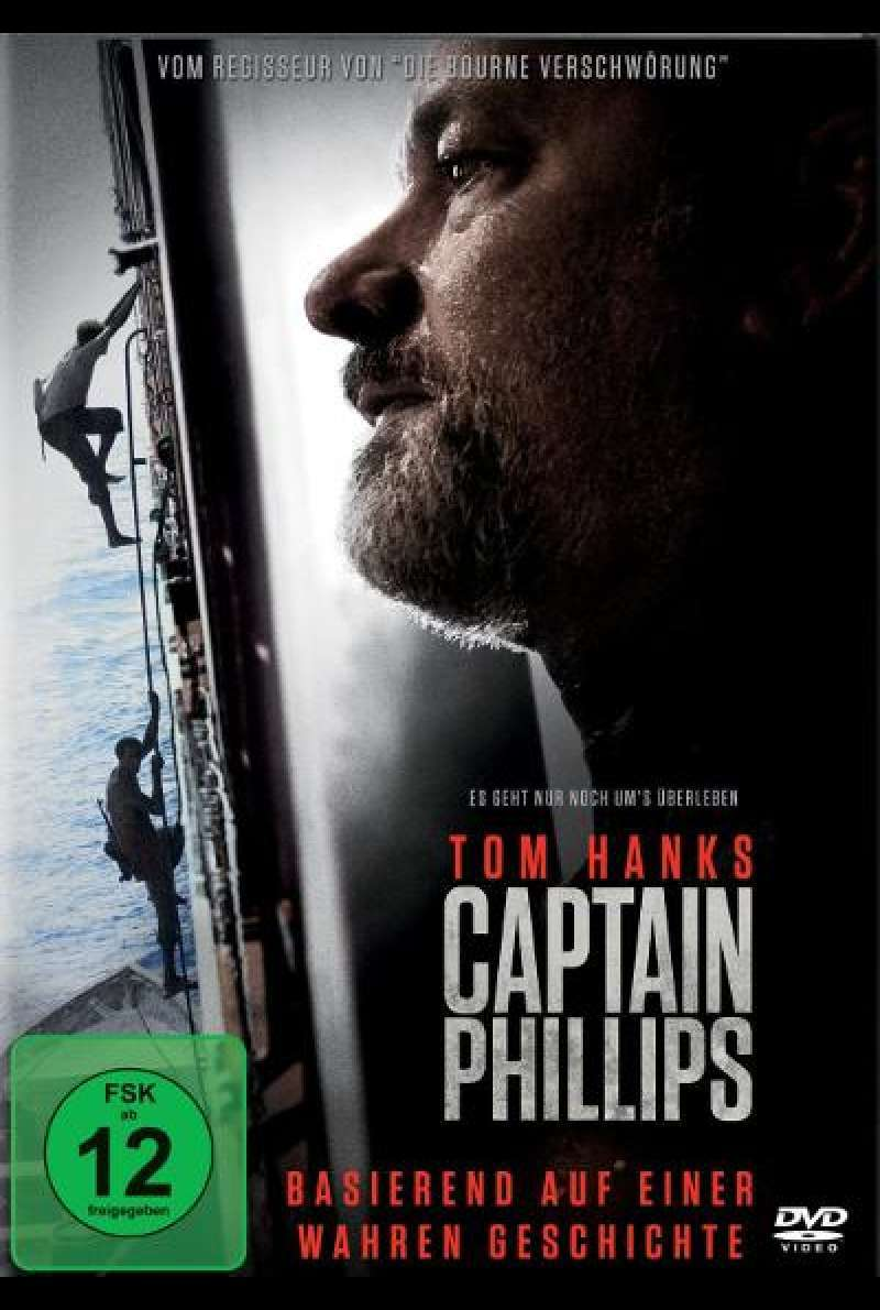 Captain Phillips von Paul Greengrass - DVD - Cover