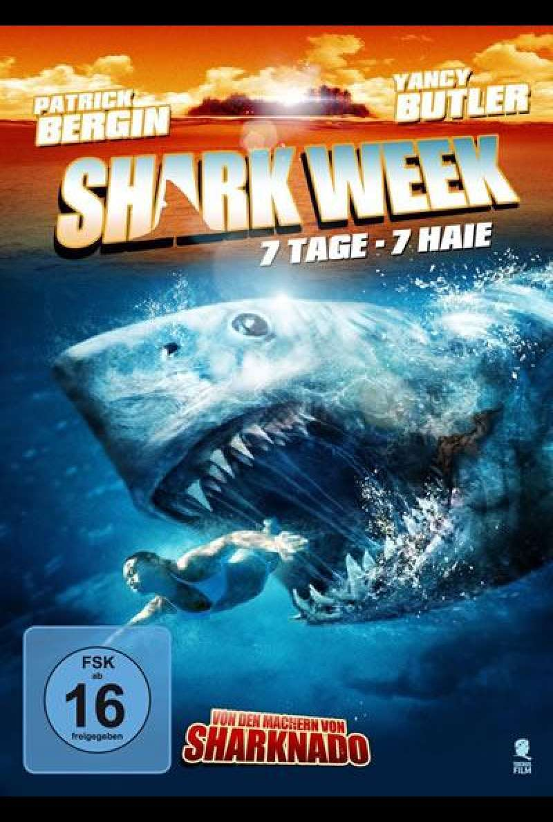 Shark Week ... 7 Tage - 7 Haie - DVD-Cover