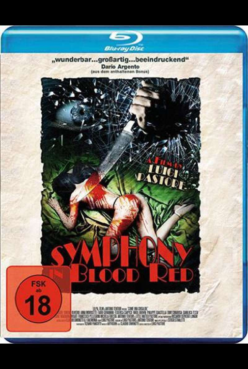 Symphony in Blood Red - Blu-ray - Cover