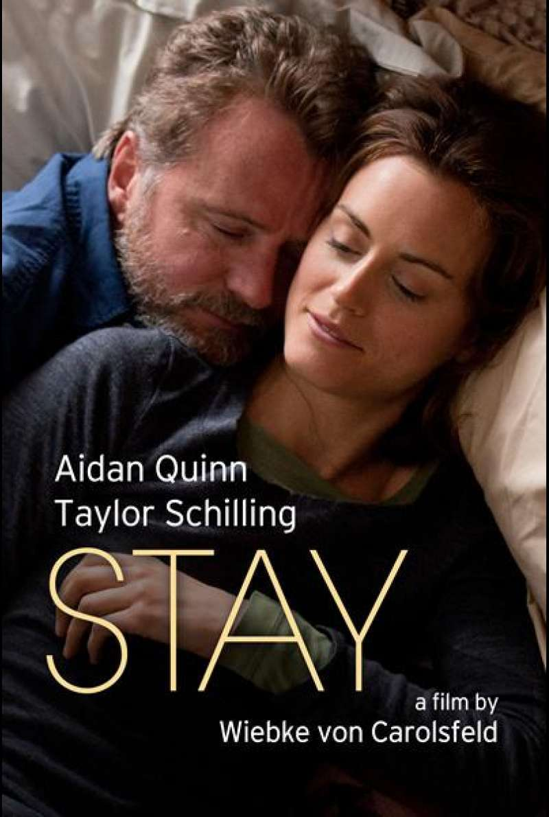 Stay (2014) - Filmplakat (US)