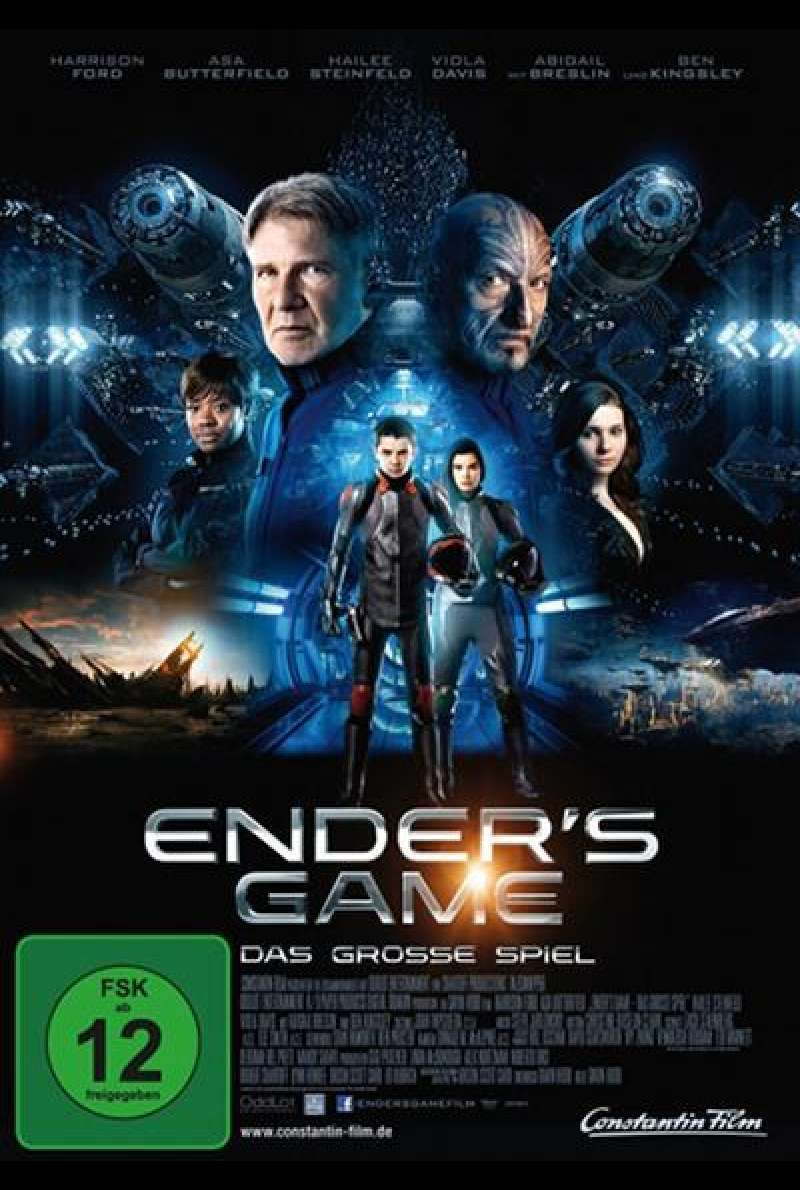 Ender's Game - DVD-Cover