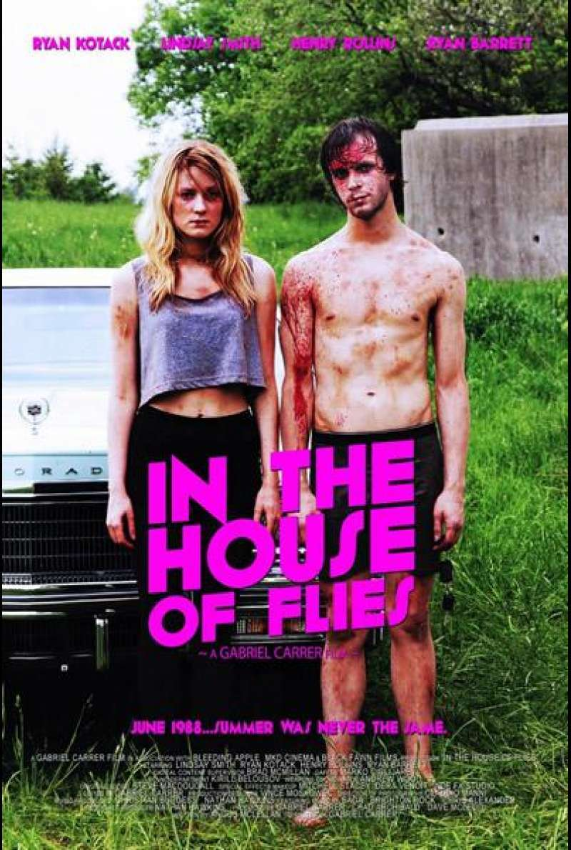 In the House of Flies - Filmplakat (US)