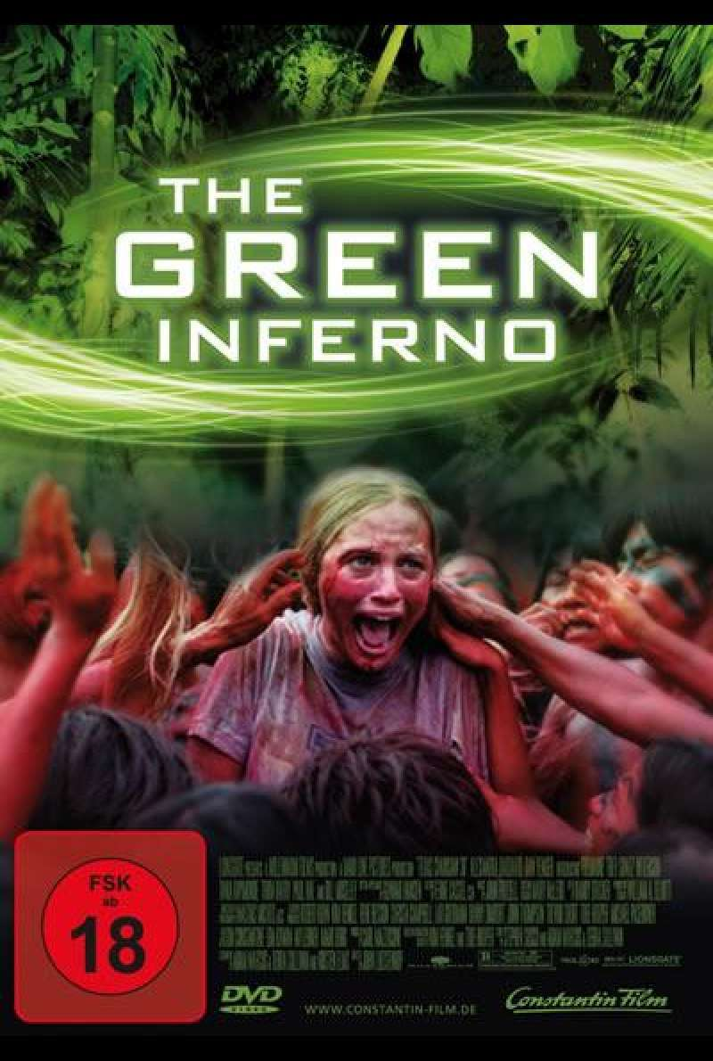 The Green Inferno - DVD-Cover