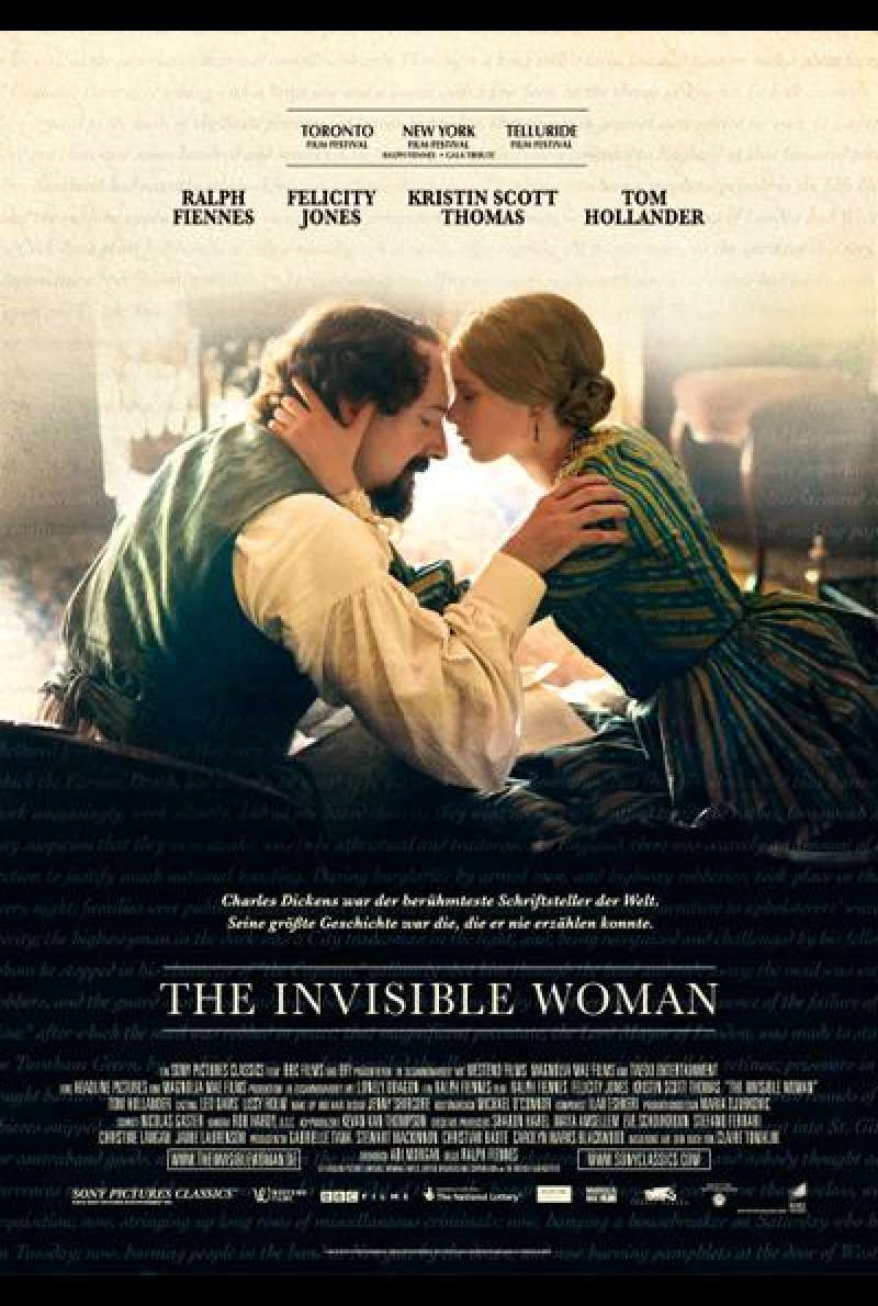 The Invisible Woman - Filmplakat