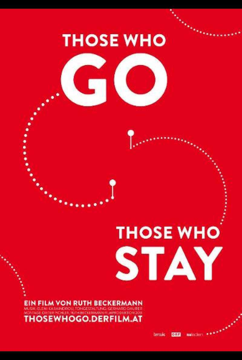 Those Who Go Those Who Stay - Filmplakat (AT)