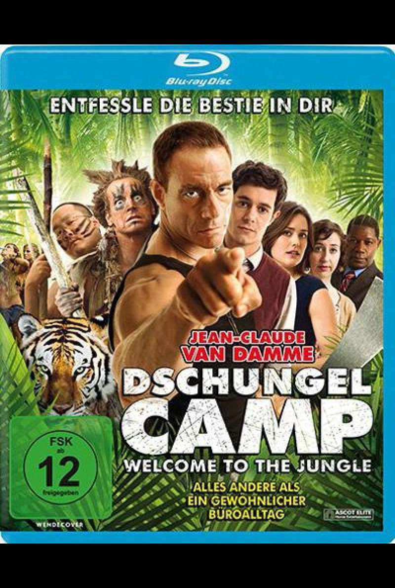 Dschungelcamp - Blu-ray - Cover
