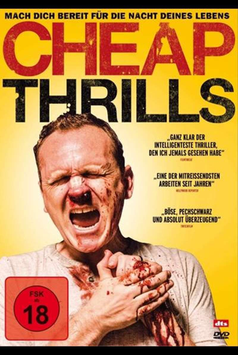 Cheap Thrills - DVD-Cover