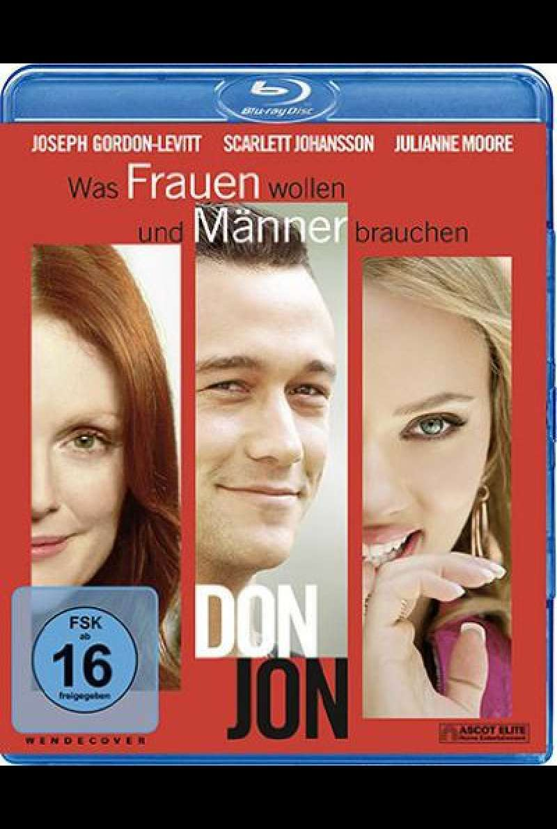 Don Jon - Blu-ray - Cover