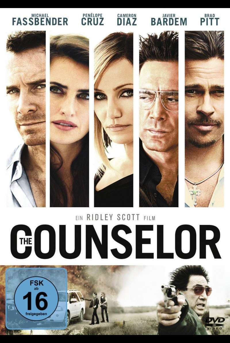 The Counselor - DVD-Cover