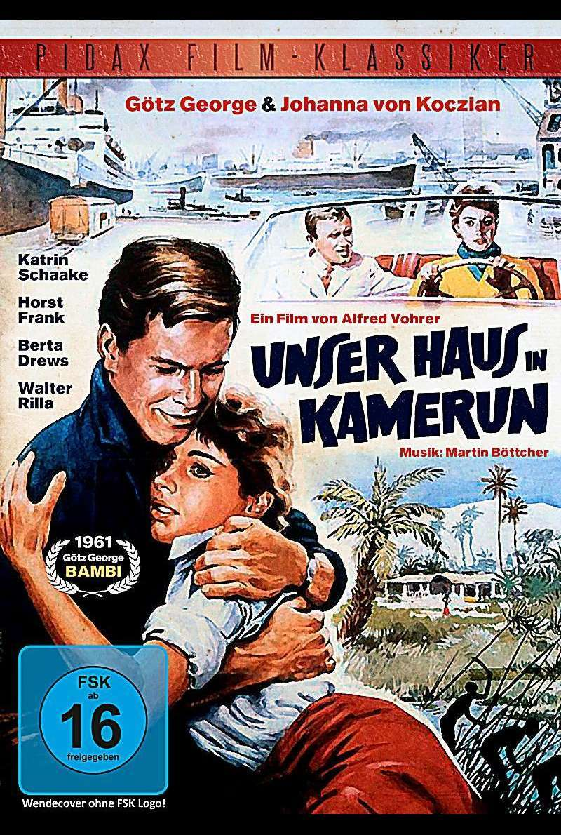 Unser Haus in Kamerun - DVD-Cover