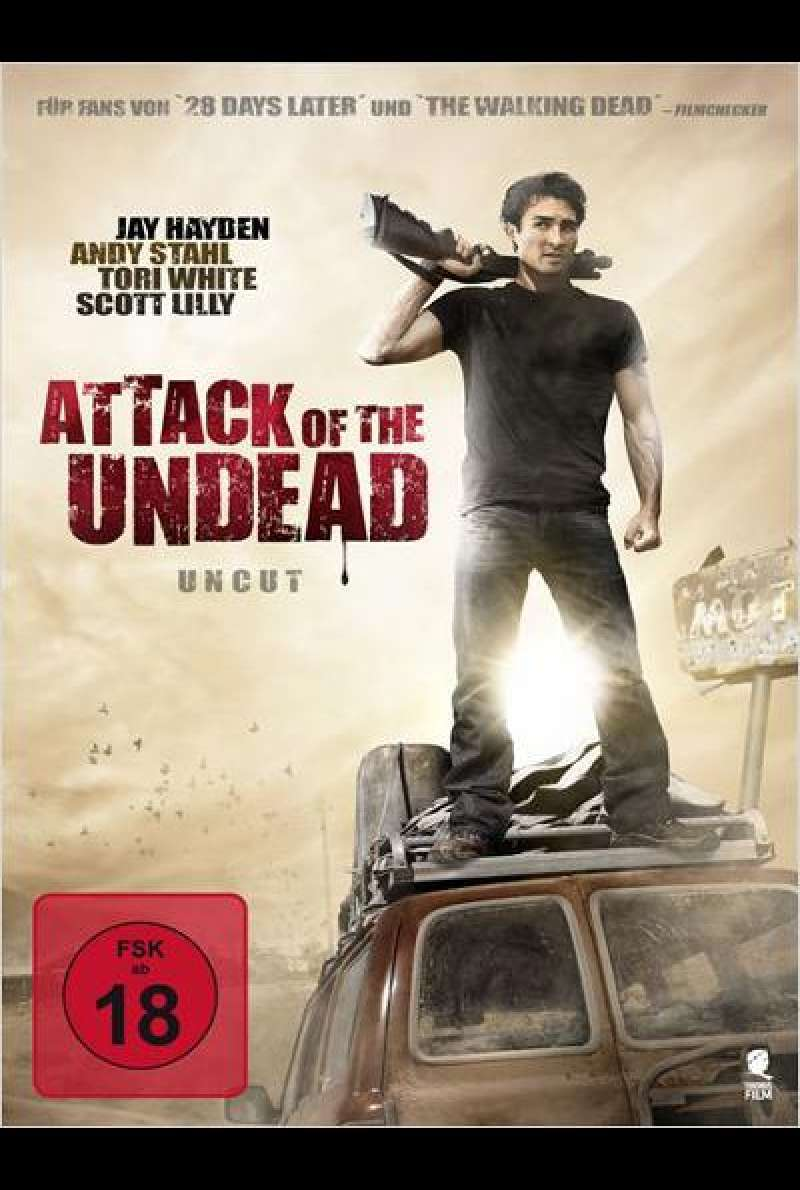 Attack of the Undead - DVD - Cover