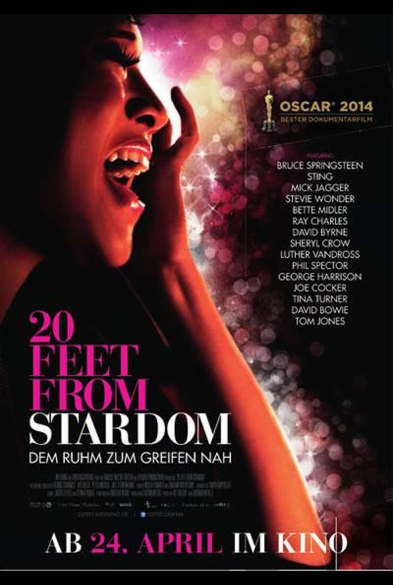 Twenty Feet from Stardom - Filmplakat