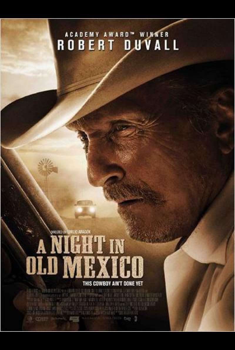 A Night in Old Mexico - Filmplakat (US)