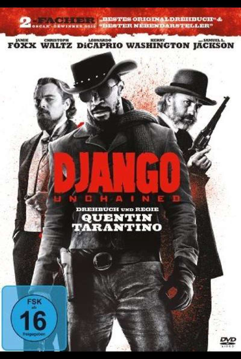 Django Unchained - DVD Cover