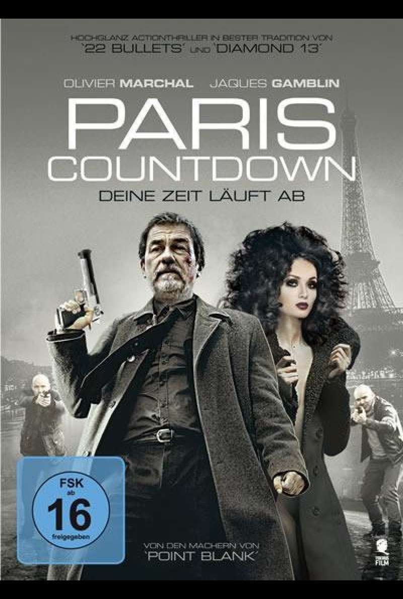 Paris Countdown - DVD-Cover