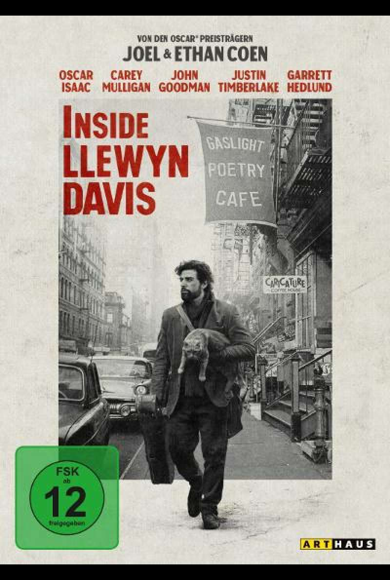 Inside Llewyn Davis - DVD Cover