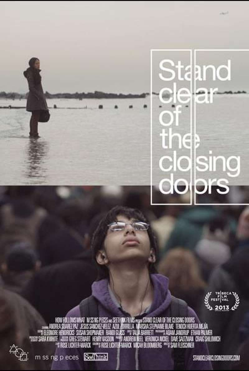 Stand Clear of the Closing Doors - Filmplakat (US)