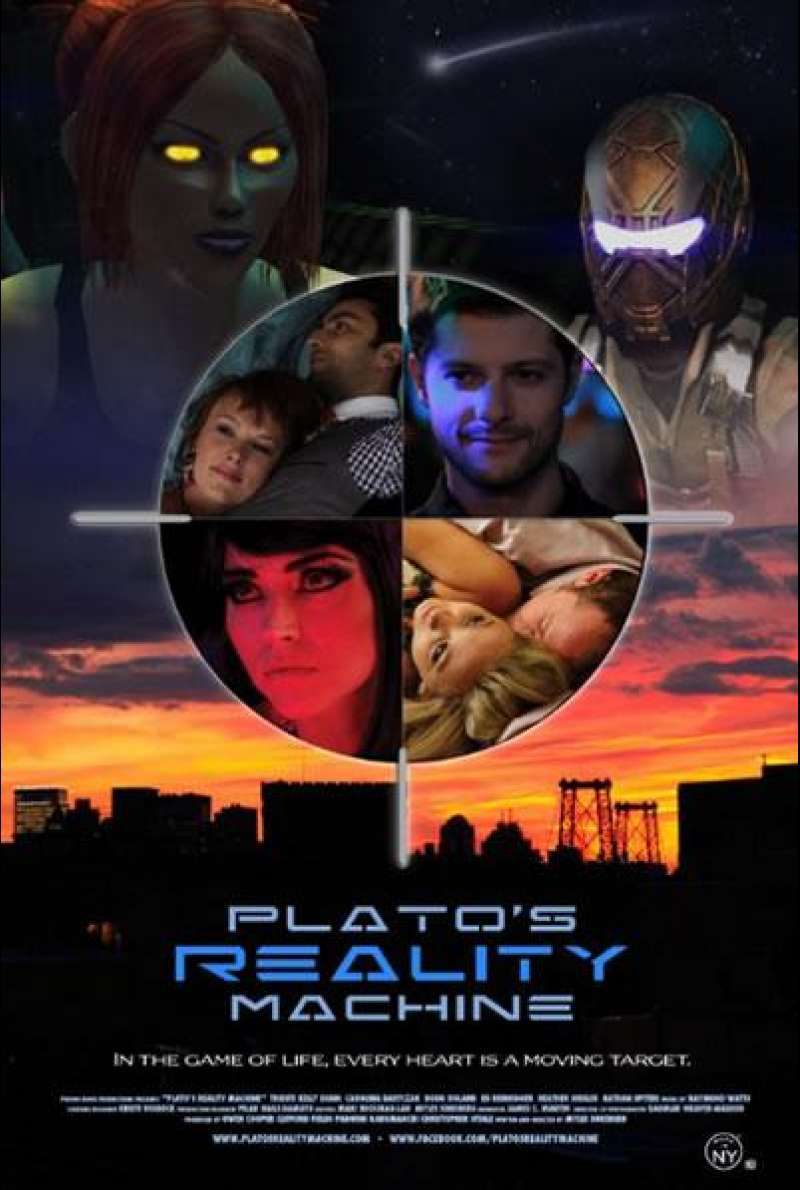 Plato's Reality Machine - Filmplakat (US)