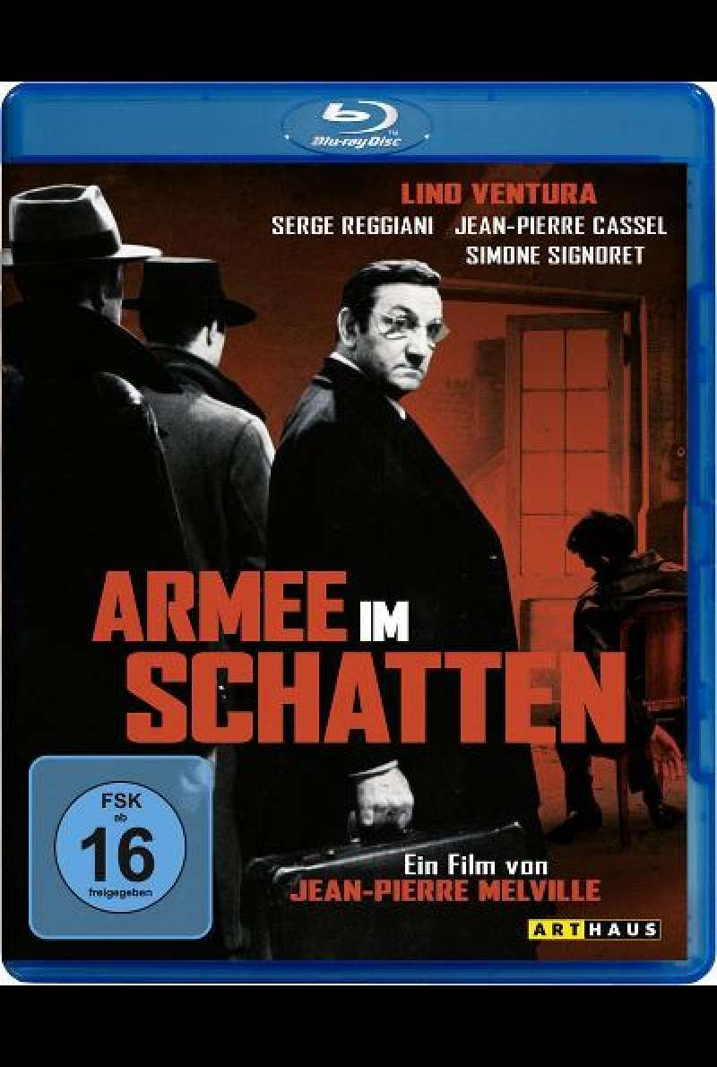 Armee im Schatten -Blu-ray Cover