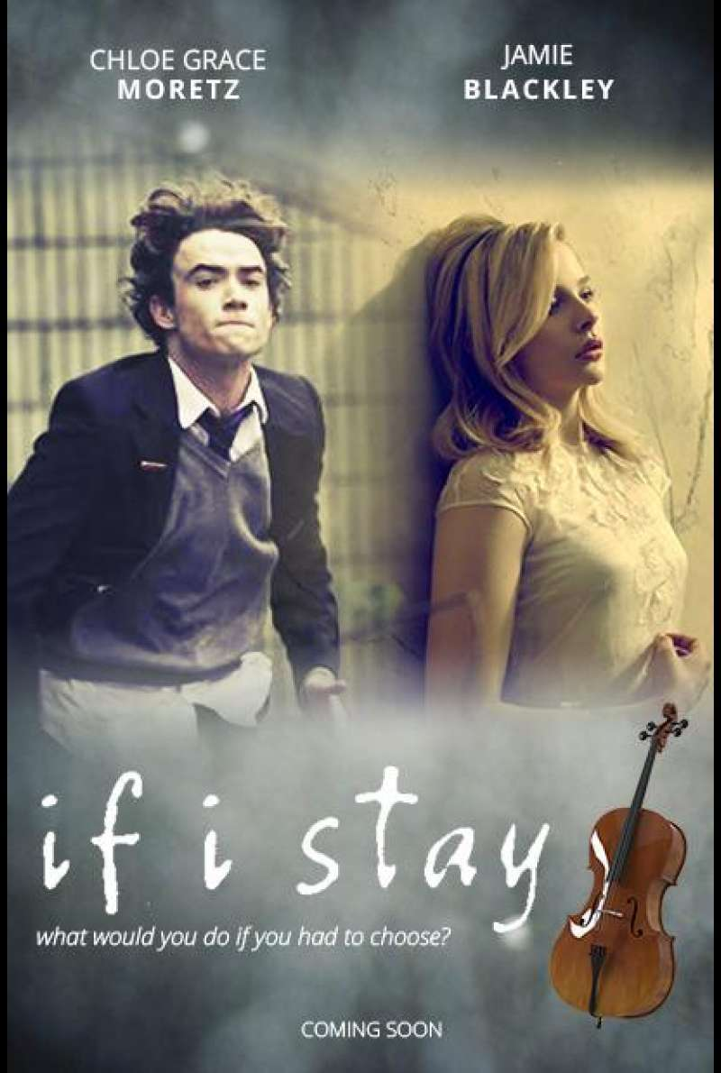 If I Stay - Filmplakat (US)