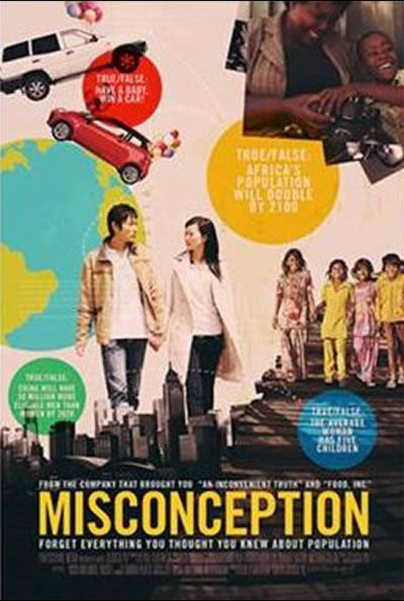 Misconception von Jessica Yu - Filmplakat (US)