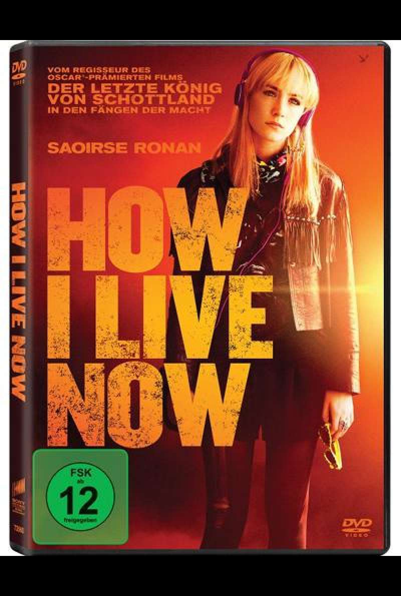 How I Live Now - DVD-Cover