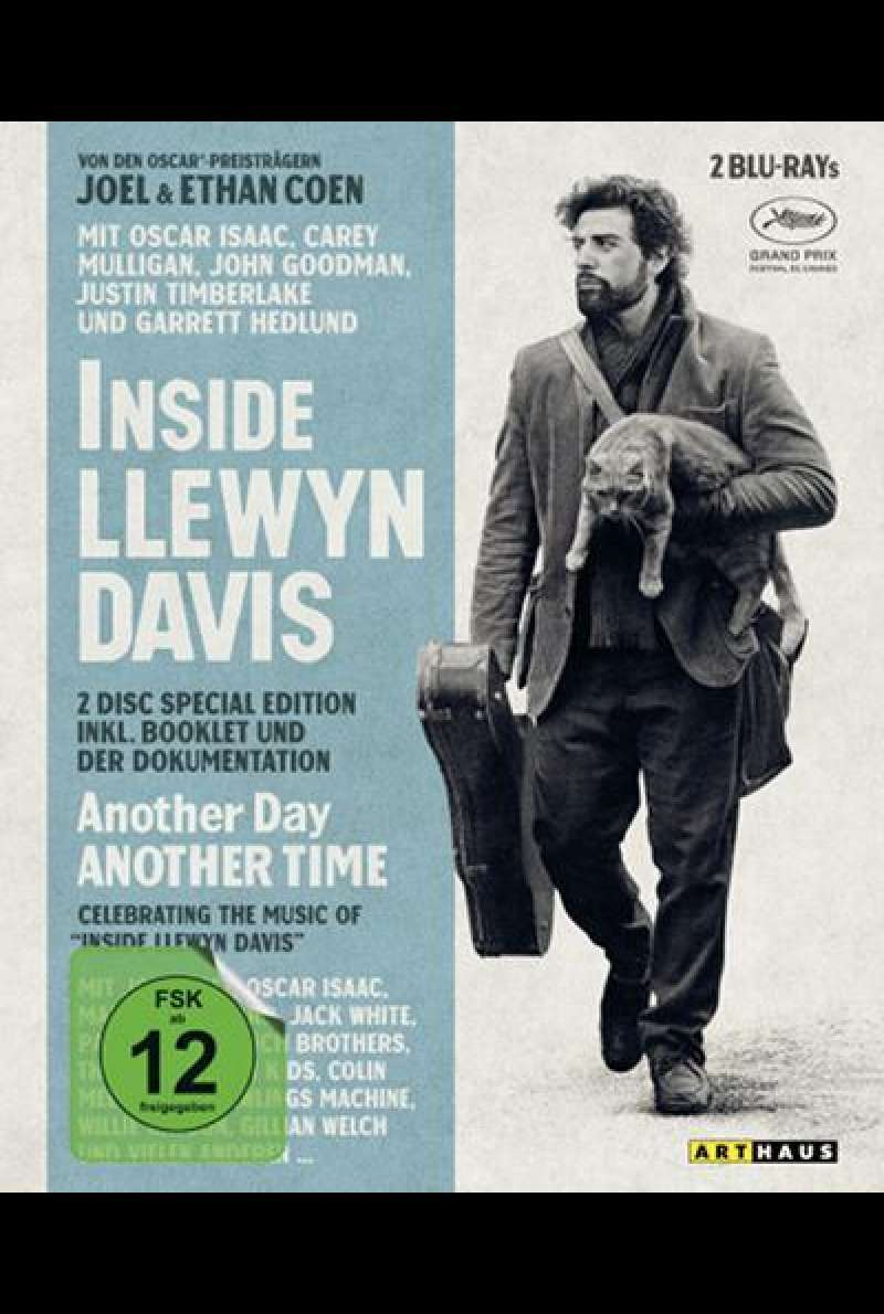 Inside Llewyn Davis & Another Day, Another Time (Special Edition)  - Blu-ray Cover