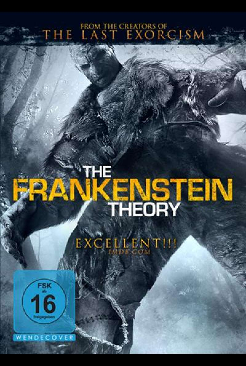 The Frankenstein Theory - DVD-Cover