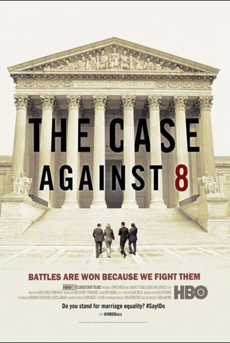 The Case Against 8 von Ben Cotner - Filmplakat (US)