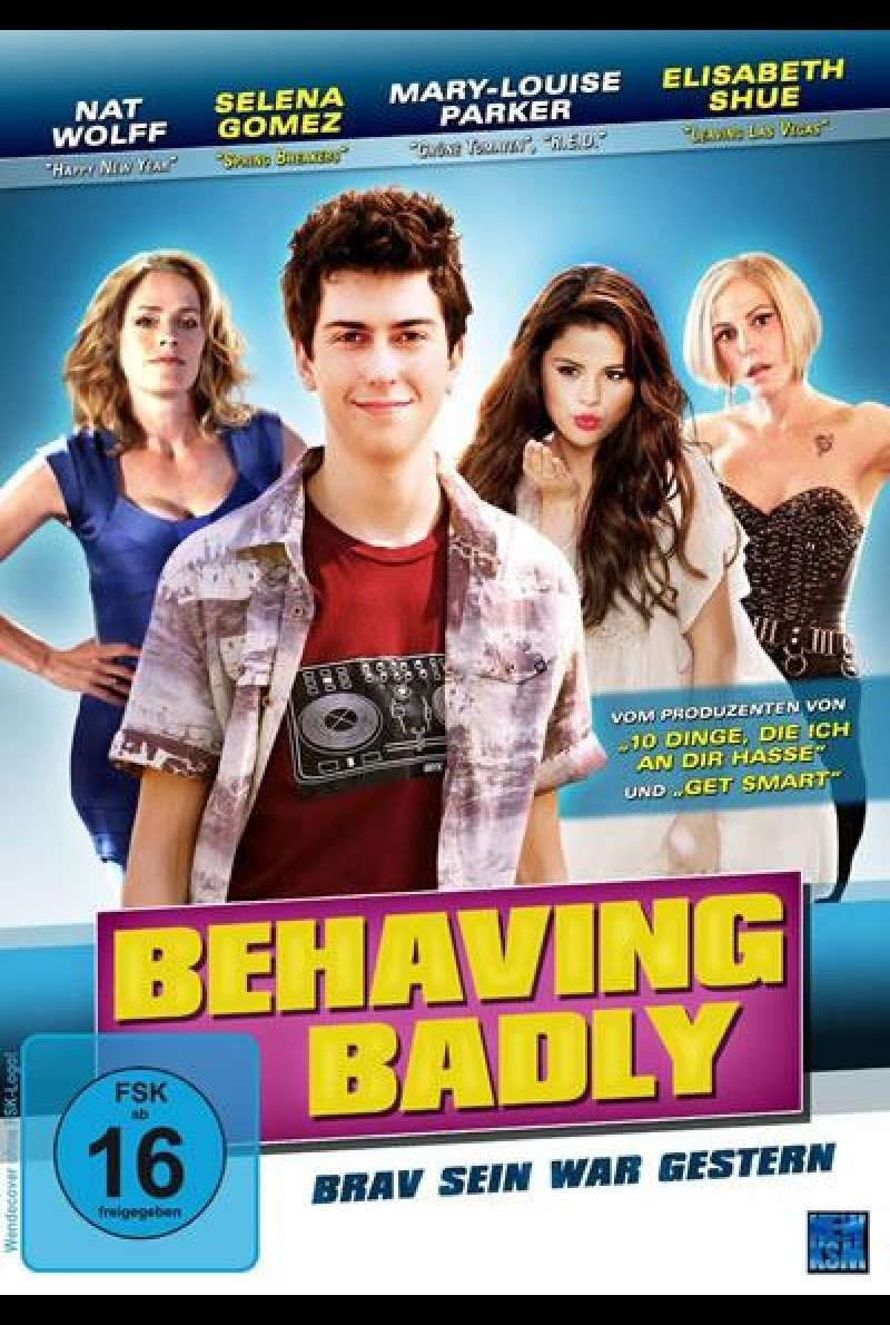 Behaving Badly - Brav sein war gestern - DVD-Cover