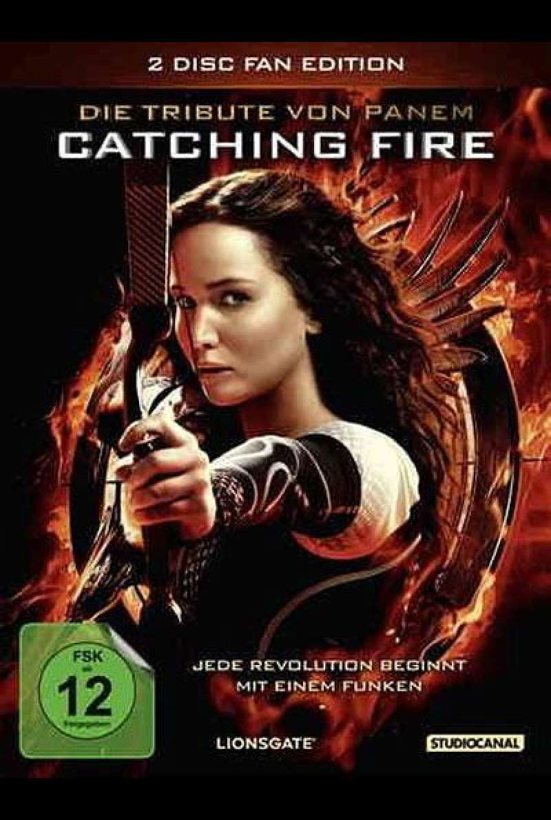Die Tribute von Panem - Catching Fire - DVD-Cover