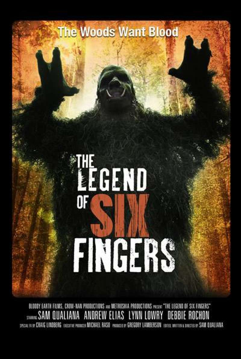 The Legend of Six Fingers von Sam Qualiana - Filmplakat (US)