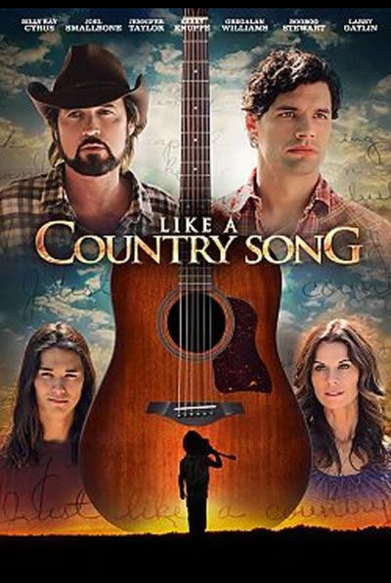 Like a Country Song von Johnny Remo - Filmplakat (US)