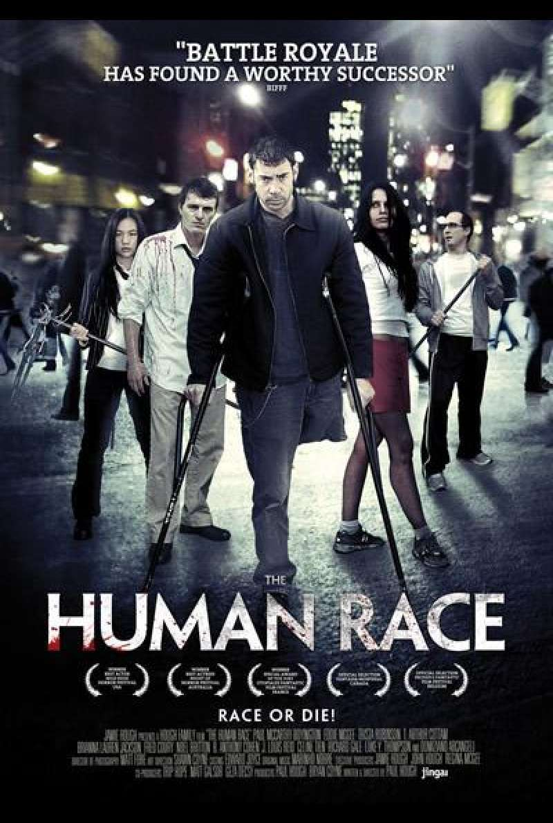 The Human Race - Filmplakat (US)