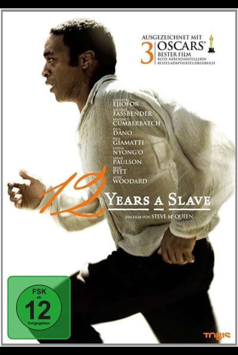 12 Years a Slave - DVD-Cover