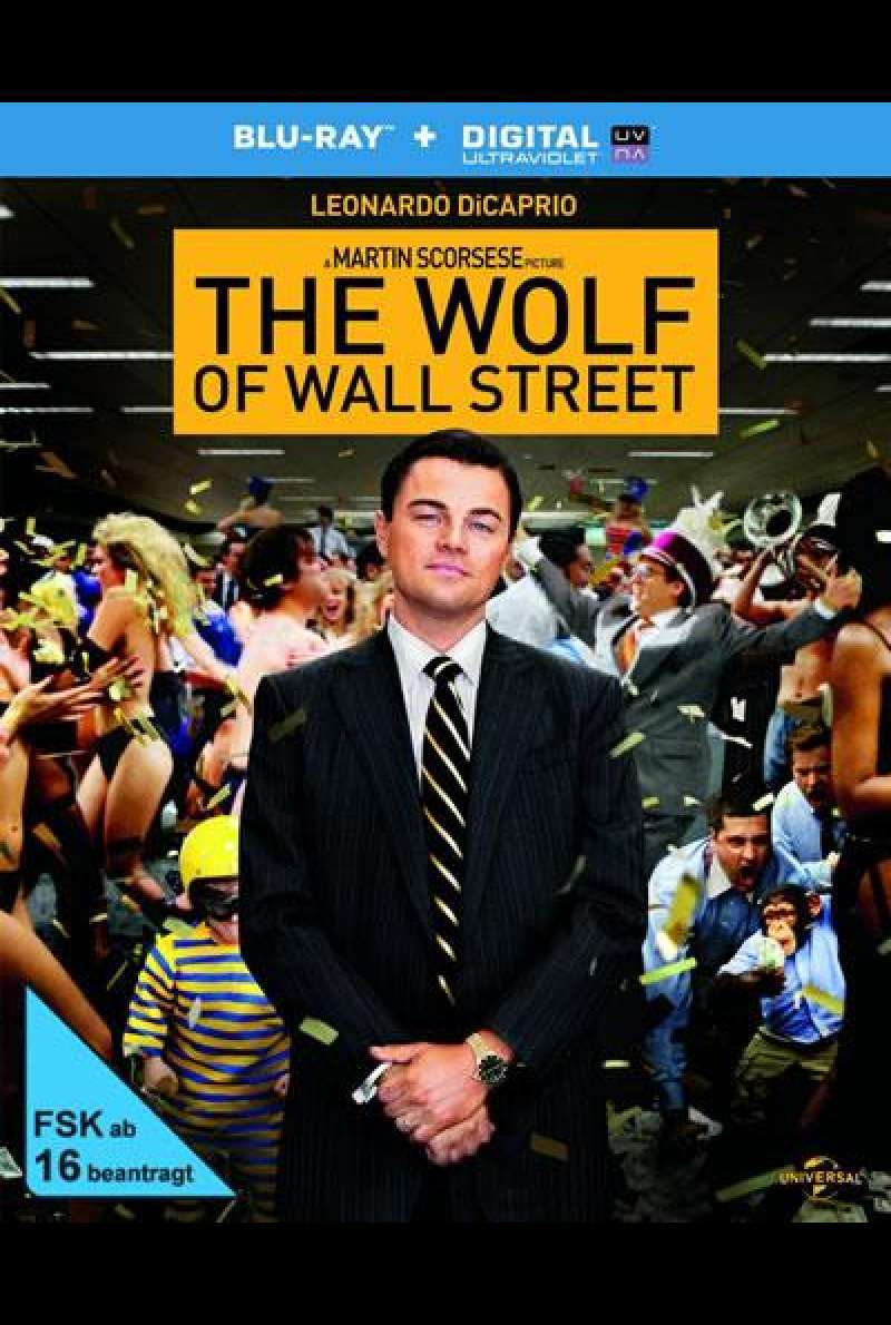 The Wolf of Wall Street - DVD-Cover