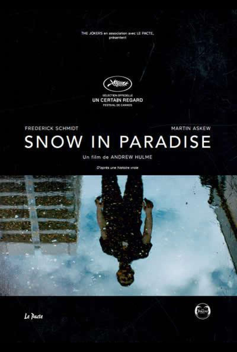 Snow in Paradise von Andrew Hulme - Filmplakat (FR)