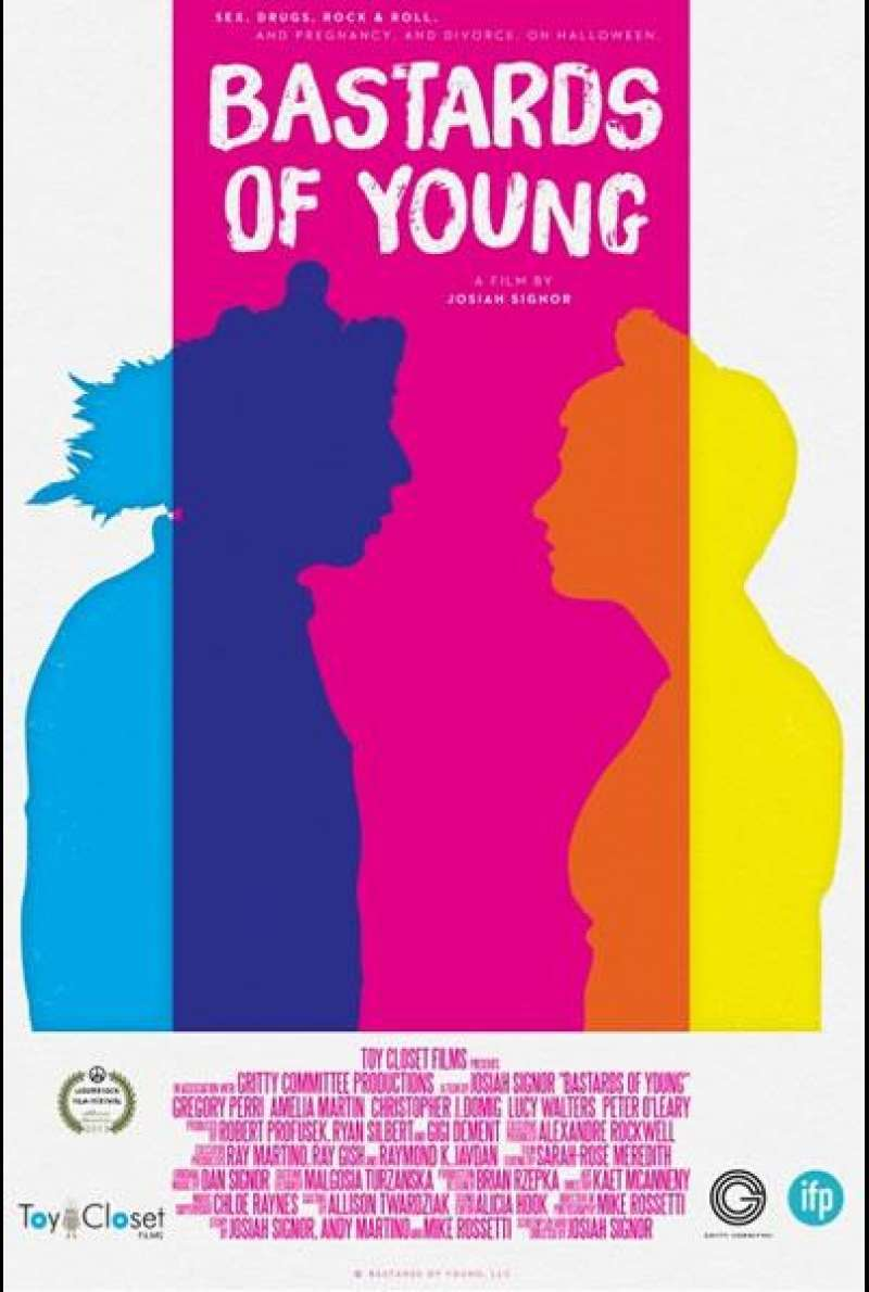 Bastards of Young - Filmplakat (US)