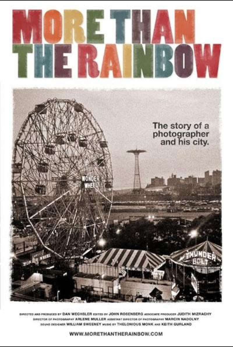 More Than the Rainbow - Filmplakat (US)